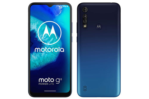 Motorola Moto G8 Power Lite.