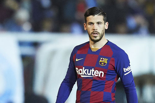 1. Carles Perez (tốc độ tối đa: 34,67 km/h). Ảnh: Barcablaugranes.com.