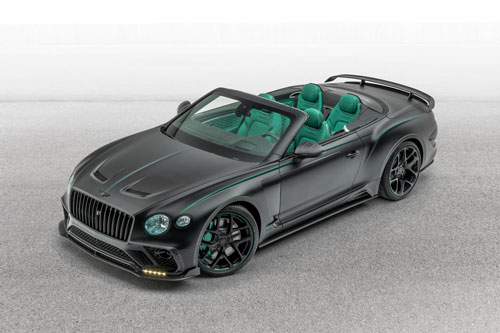 10. Mansory Bentley GTC.