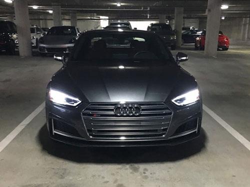 Parker cũng lái một chiếc Audi S5 ở San Francisco. Ảnh: Business Insider.