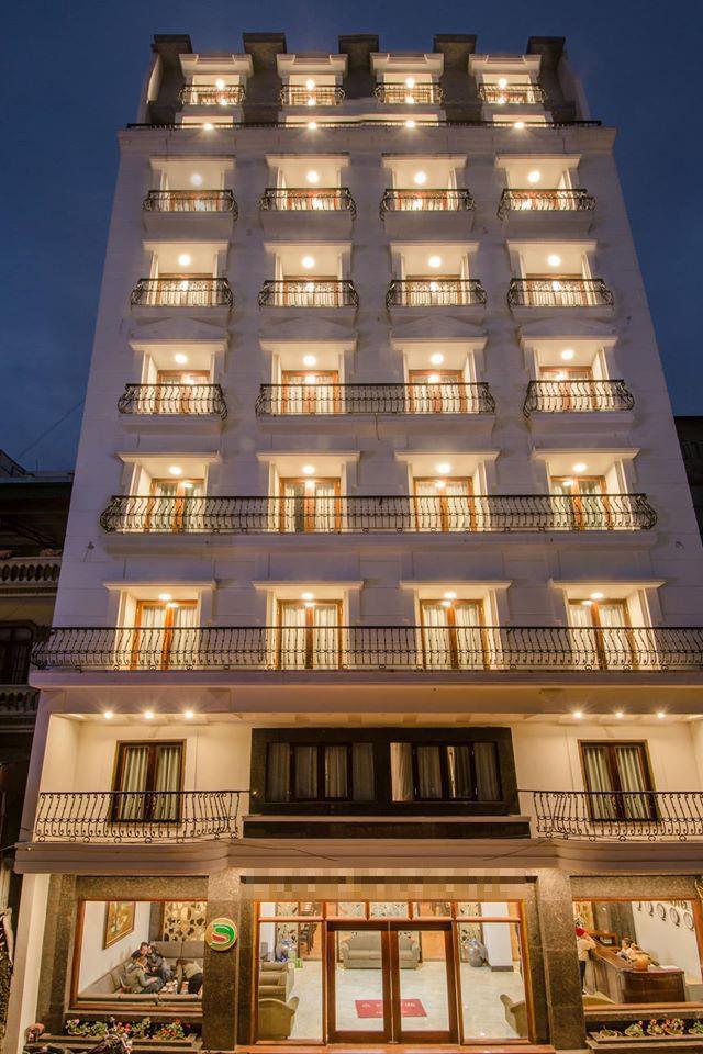 Khách sạn mà Ngọc Khuê rao bán.