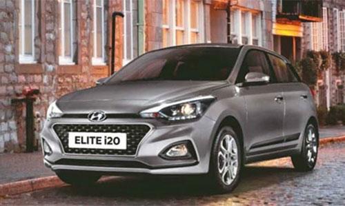 Hyundai Elite i20.