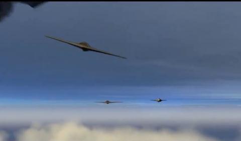 Máy bay B-21 xuất hiện trong cuộc tấn công mô phỏng của Mỹ.