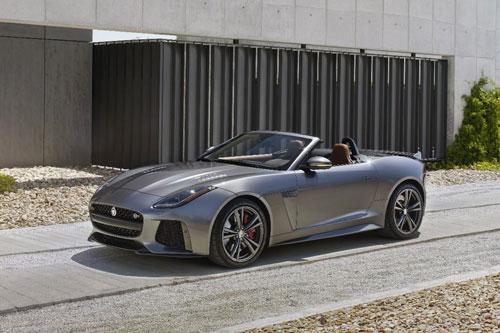 10. Jaguar F-Type Convertible 2020.