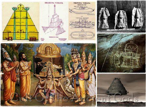 Bằng chứng xuất hiện UFO tại Ấn Độ 6.000 năm trước.