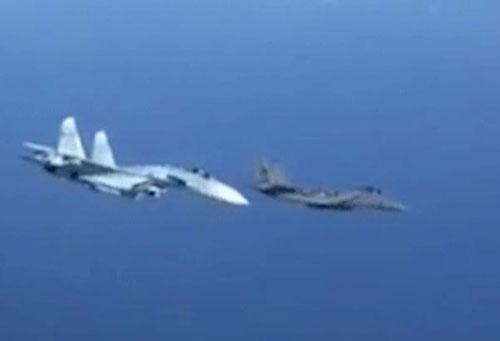 Tiêm kích Su-27 Nga bị rơi