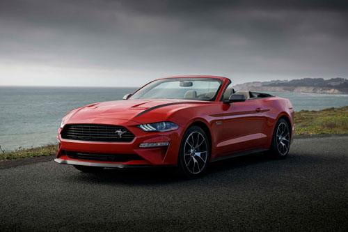 3. Ford Mustang GT Convertible 2020.