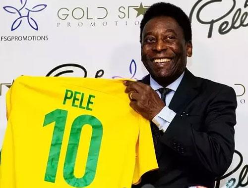 5. Pele (Brazil) 13 bàn thắng: 12. Ảnh: CNN.