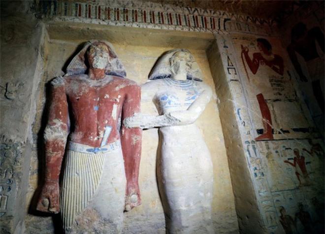 Bên trong ngôi mộ 4.400 tuổi vừa được phát hiện ở Ai Cập - Ảnh 6.