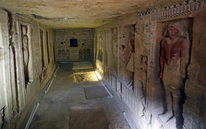 Bên trong ngôi mộ 4.400 tuổi vừa được phát hiện ở Ai Cập - Ảnh 7.