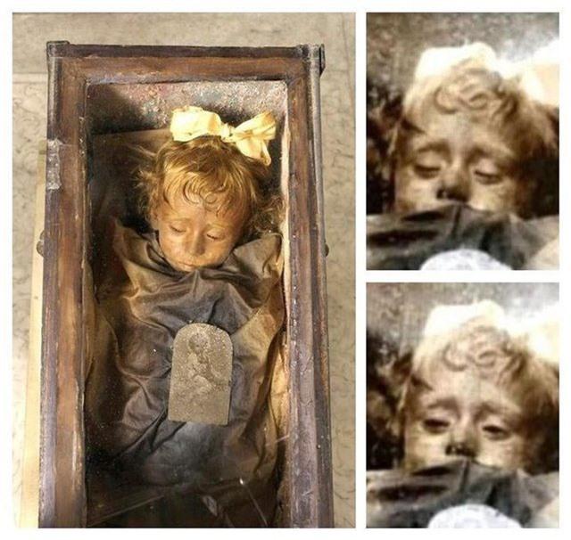 Bí ẩn xác ướp bé gái gần trăm năm vẫn nguyên vẹn như đang ngủ, thỉnh thoảng lại chớp mắt - 2