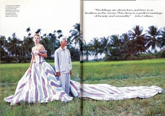 Bộ ảnh siêu mẫu thế giới Kate Moss chụp tại Việt Nam 24 năm trước bất ngờ 'gây sốt' trở lại 1