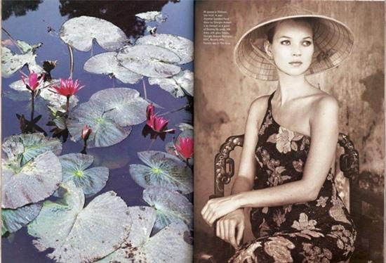Bộ ảnh siêu mẫu thế giới Kate Moss chụp tại Việt Nam 24 năm trước bất ngờ 'gây sốt' trở lại 0