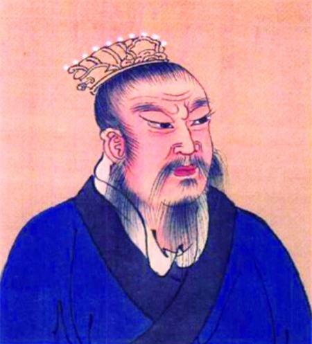 Nhờ dung mạo có nhiều điểm khác người, không ít vị Hoàng đế Trung Hoa được tin là truyền nhân của thần thánh. (Tranh minh họa).