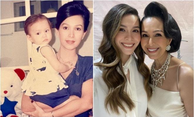 Con gái 'Nữ hoàng ảnh lịch' Diễm My đăng loạt ảnh mẹ ngày trẻ với nhan sắc 'cực phẩm' 4