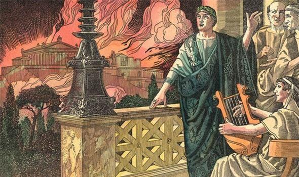 Nero - Tên bạo chúa điên rồ: Giết mẹ ruột, đốt thành Rome, đá chết người vợ đang mang thai - Ảnh 2.
