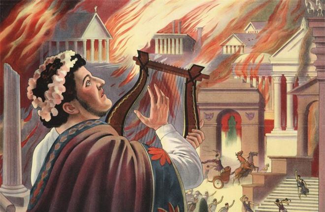 Nero - Tên bạo chúa điên rồ: Giết mẹ ruột, đốt thành Rome, đá chết người vợ đang mang thai - Ảnh 3.