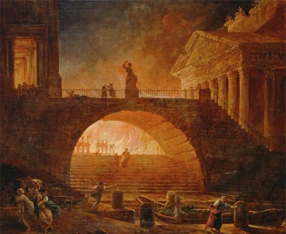 Nero - Tên bạo chúa điên rồ: Giết mẹ ruột, đốt thành Rome, đá chết người vợ đang mang thai - Ảnh 4.
