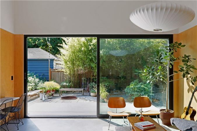 Ngôi nhà 54m² nhưng với cách thiết kế sáng tạo đã biến mặt tiền 4m thành 2 không gian vừa cho thuê vừa sử dụng tách biệt - Ảnh 7.