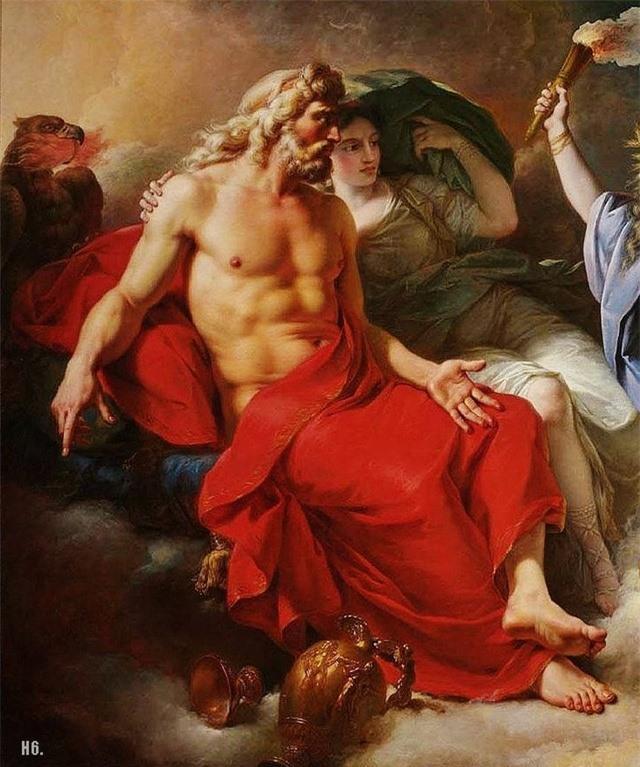 Zeus đã có bao nhiêu cuộc tình với các nữ thần trong thần thoại Hy Lạp? - Ảnh 2.