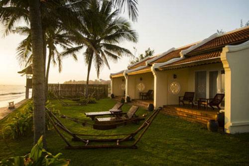 Các khách sạn ở ven biển Đà Nẵng, Hội An giảm sút nghiêm trọng, nhiều dự án chỉ đạt 10% công suất (Ảnh: Internet)