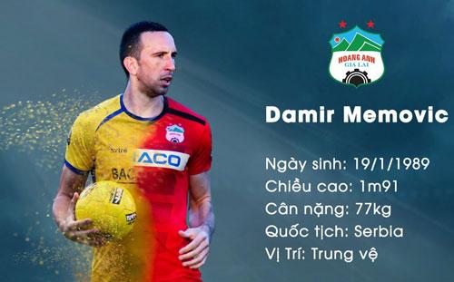 =2. Damir Memovic: 150.000 Euro khoảng 3,781 tỷ đồng. Ảnh: Hoàng Anh Gia Lai FC.