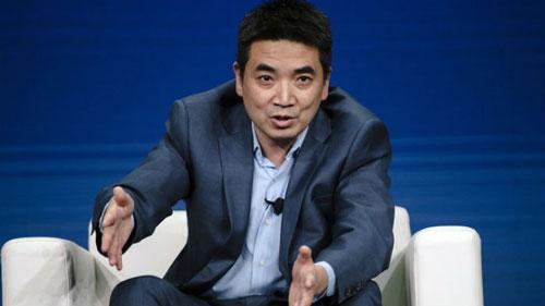 Eric Yuan, người sáng lập phần mềm họp trực tuyến Zoom Video. Ảnh: Bloomberg.