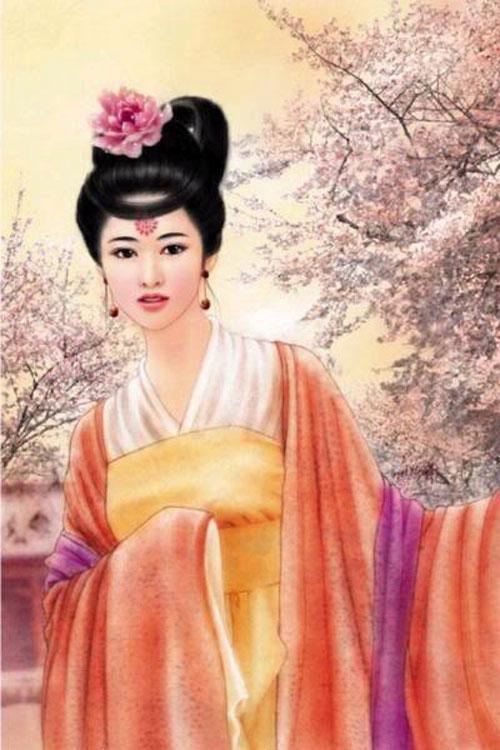 Nàng là một trong bốn mỹ nhân Trung Hoa