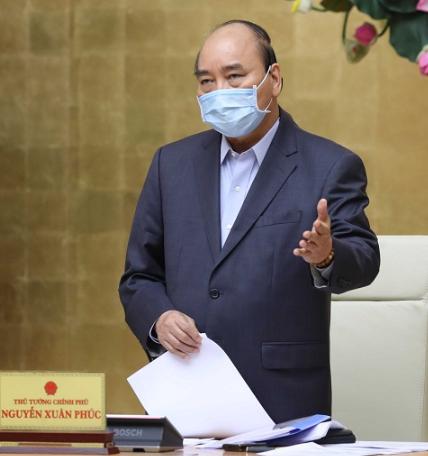 Thủ tướng Nguyễn Xuân Phúc chủ trì cuộc họp Thường trực Chính phủ chiều 27/3.
