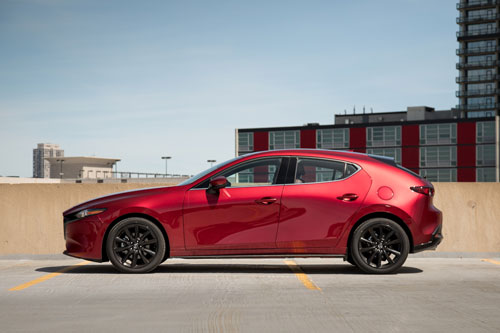 4. Mazda 3.