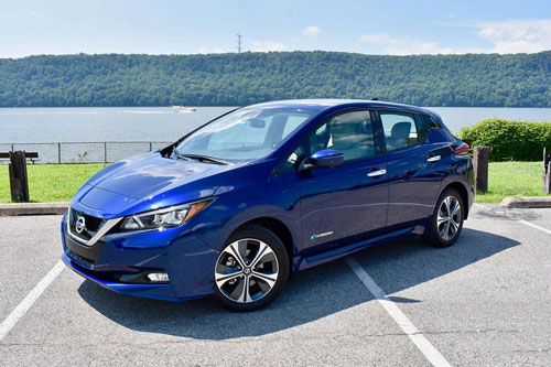 5. Nissan Leaf.