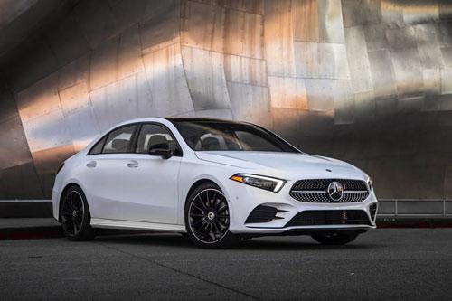 6. Mercedes-Benz A-Class.