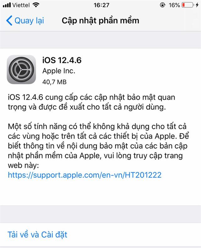 Người dùng iPhone 5S, iPhone 6/6 Plus cần phải biết điều này! - Ảnh 1.