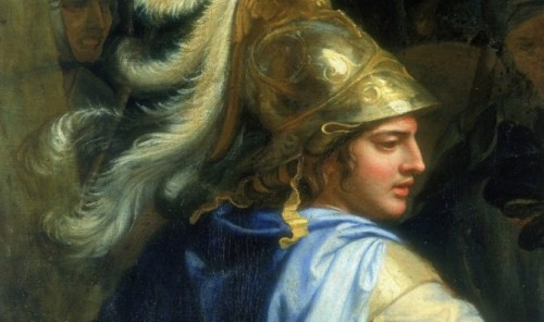 Một bức họa của Alexander Đại đế (Ảnh: Internet)