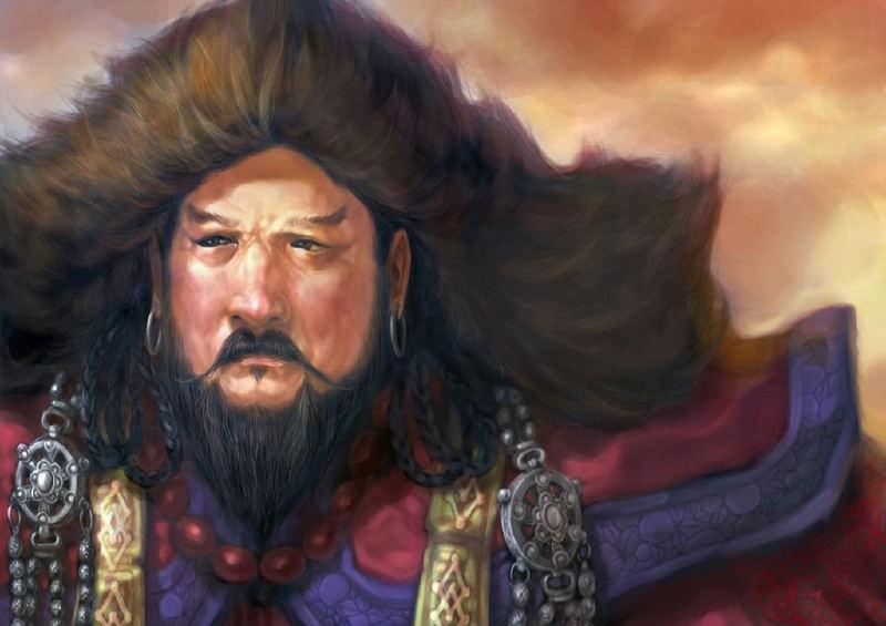 Hoàng đế Hốt Tất Liệt. Ảnh Wikipedia