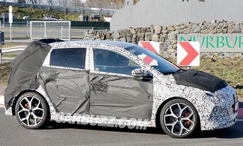 Hình ảnh rò rỉ của Hyundai i20 N mới.