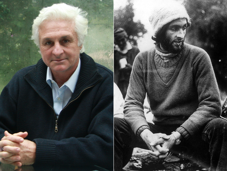 Roberto Canessa (trái) năm 2008 và sau vụ tai nạn (phải) năm 19 tuổi. Ảnh: WireImage/Sipa Press