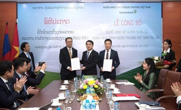 Vietcombank bổ nhiệm nhiều nhân sự cao cấp tại Lào
