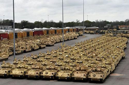 """Bộ Quốc phòng Mỹ mới đây tuyên bố sẽ giảm mạnh quy mô và phạm vi tham gia cuộc tập trận lớn nhất trong 1/4 thế kỷ của Tổ chức quân sự Hiệp ước Bắc Đại Tây Dương (NATO), mang tên """"Người bảo vệ châu Âu 2020"""""""