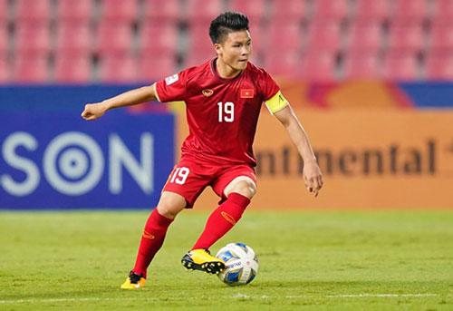 3. Nguyễn Quang Hải (CLB Hà Nội FC): 150.000 euro (khoảng: 3.819 tỷ đồng). Ảnh: LiveBox.
