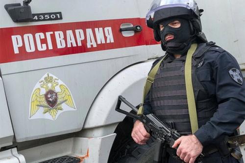 Vệ binh quốc gia Nga đã bắt đầu thực hiện công tác kiểm dịch tại thủ đô Moskva. Ảnh: Russian Planet.