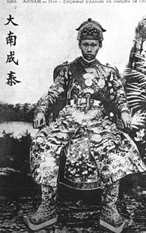 Chân dung vua Thành Thái