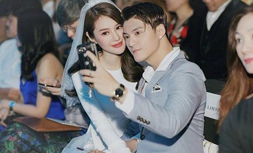"""Nhìn cách Lâm Vinh Hải buộc dây áo tắm cho Linh Chi mới hiểu """"chồng nhà người ta"""" là thế nào"""