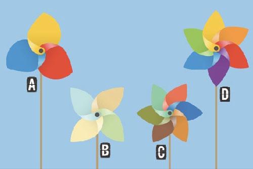 Bạn chọn cây chong chóng nào?