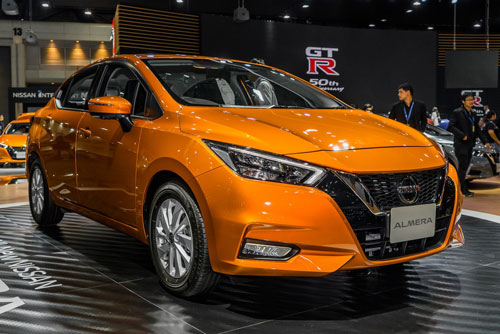 5. Nissan (doanh số: 4.810 chiếc).