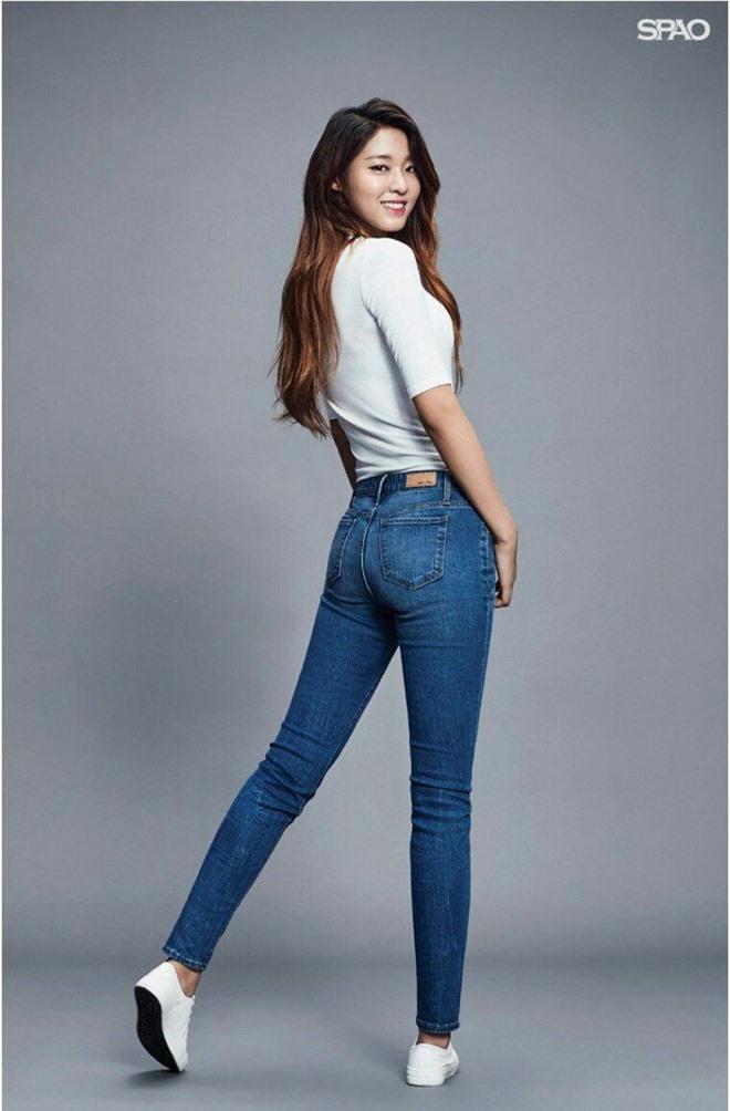 Dàn mỹ nhân Kpop khi diện quần jeans áo trắng: Thước đo nhan sắc chuẩn là đây, một mỹ nhân nhờ vậy mà bỗng nổi sau 1 đêm - Ảnh 12.