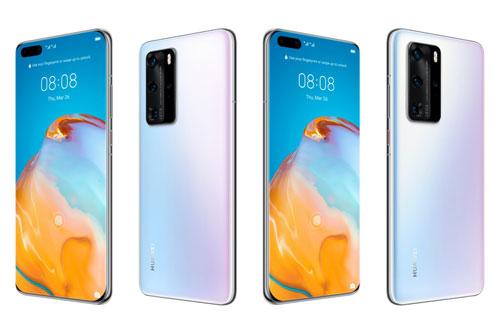 Huawei P40 Pro sở hữu thiết kế với khung viền bằng kim loại, 2 bề mặt phủ kính cường lực. Số đo 158,2x72,6x9 mm, cân nặng 209 g.