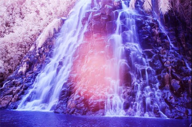 Thiên nhiên kỳ lạ qua đôi mắt của người dân Đảo Mù màu: Rừng màu hồng, biển màu xám - Ảnh 7.