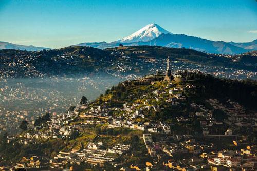 2. Ecuador (tốc độ tăng trưởng: 51%). Ảnh: Shutterstock.