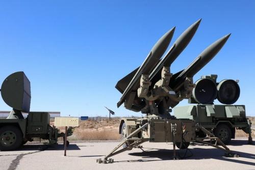 Hệ thống tên lửa phòng không tầm trung MIM-23 Hawk. Ảnh: Avia-pro.